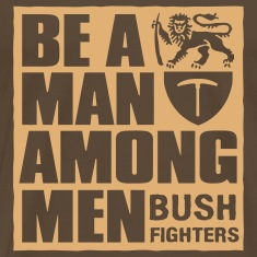 be a man among men T-Shirts