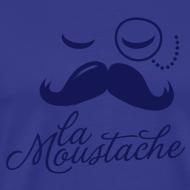 Design ~ La Moustache Typography T-shirts