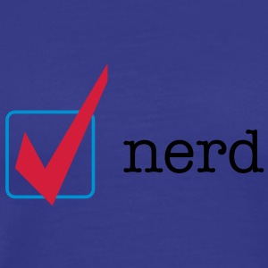 Proud to be nerd - Men's Premium T-Shirt