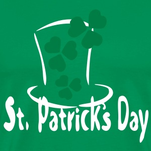 shamrock st.patrick's day  Men's  Classic T-shirt  - Men's Premium T-Shirt