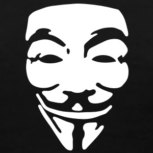 GUY FAWKES, anonymous T-shirts - Dame premium T-shirt