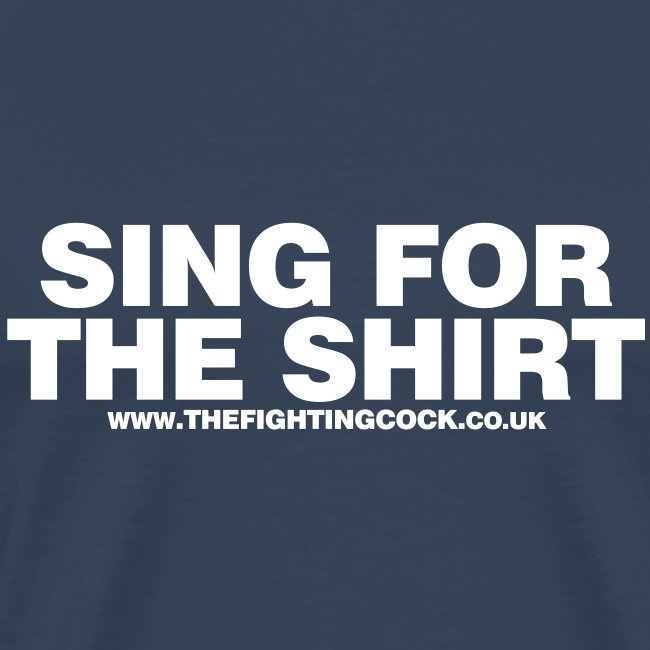 Sing For the Shirt - Navy T-Shirt