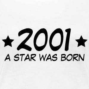 2001 a star was born (sw) T-shirts - Premium-T-shirt dam