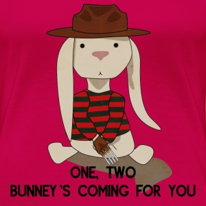 Nightmare On Elm Street Bunny T-Shirts - Women's Premium T-Shirt