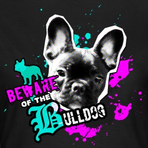 Bully, Fransk Bulldog - Attention fare T-shirts - Dame-T-shirt