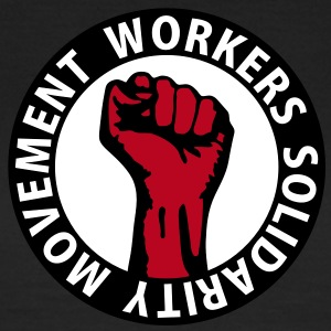 3 colors - Workers Solidarity Movement - Working Class Unity Against Capitalism T-shirt - Maglietta da donna