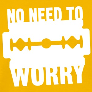 No need to worry solo Tee shirts - T-shirt Premium Homme