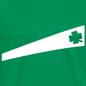 Irish leaf T-skjorter - Premium T-skjorte for menn