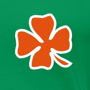 Irish Leaf two coloured T-skjorter - Premium T-skjorte for kvinner