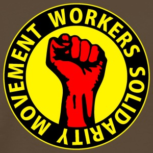 Digital - Workers Solidarity Movement - Working Class Unity Against Capitalism T-Shirts - Men's Premium T-Shirt