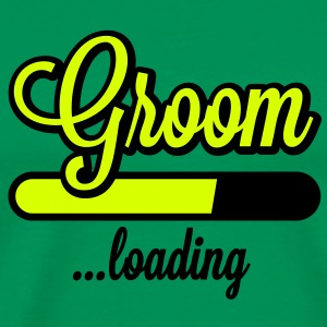 Groom loading | Stag Night T-Shirts - Männer Premium T-Shirt