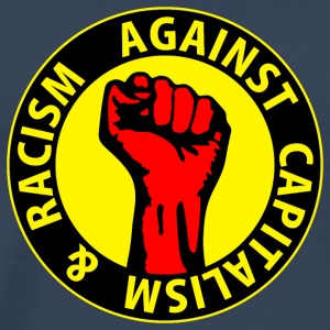 Digital - against capitalism & racism - against capitalism working class war revolution Tee shirts - T-shirt Premium Homme