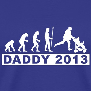 evolution_daddy_2013 T-Shirts - Männer Premium T-Shirt