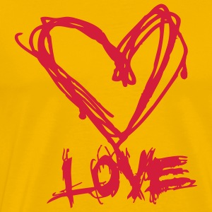 Love like blood T-shirts - Herre premium T-shirt