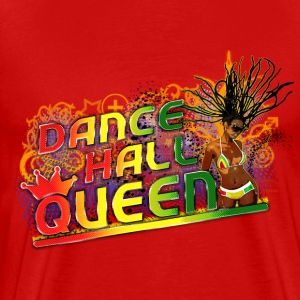 dance hall queen T-shirts - Premium-T-shirt herr