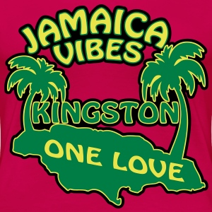 jamaica vibes kingston T-Shirts - Frauen Premium T-Shirt