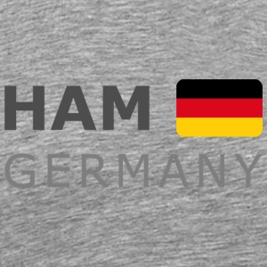 Classic T-Shirt HAM GERMANY GF dark-lettered - Mannen Premium T-shirt