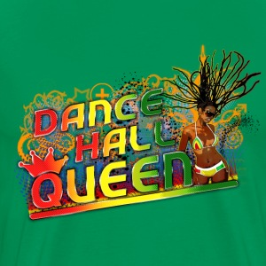 dance hall queen T-skjorter - Premium T-skjorte for menn