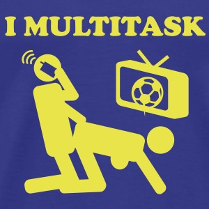 I Multitask T-Shirts - Men's Premium T-Shirt