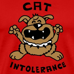 Cat intolerance T-Shirts - Men's Premium T-Shirt