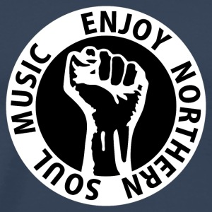 Digital - Enjoy Northern Soul Music - nighter keep the faith T-Shirts - Männer Premium T-Shirt
