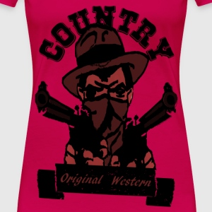 country original western T-Shirts - Frauen Premium T-Shirt