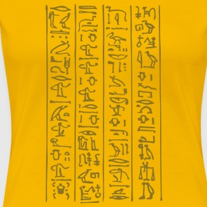 hieroglyphs - The book of Life T-Shirts - Frauen Premium T-Shirt