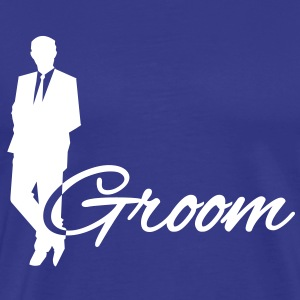 Groom T-skjorter - Premium T-skjorte for menn