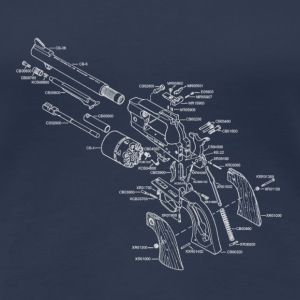 Ruger Old Army Revolver - Women's Premium T-Shirt