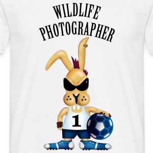 Wildlife Photographer (Text, 1c) T-Shirts - Men's T-Shirt
