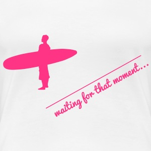 Surf T-Shirts - Frauen Premium T-Shirt
