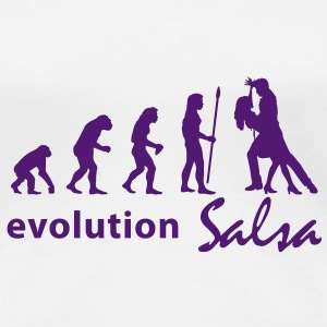 evolution_salsa T-Shirts - Frauen Premium T-Shirt