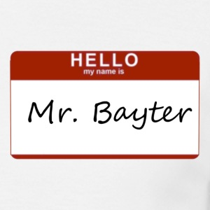 Mr. Bayter - Men's T-Shirt