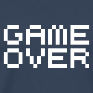 Game over / game over pixels T-shirts - Premium-T-shirt herr