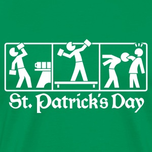 St. Patrick's Day - Traditions Pictogram - Männer Premium T-Shirt