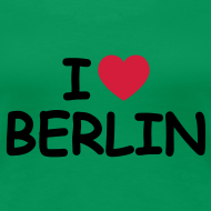 Motiv ~ I love Berlin T-Shirt (Girlie)