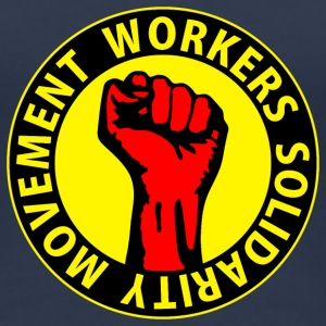 Digital - Workers Solidarity Movement - Working Class Unity Against Capitalism T-shirts - Premium-T-shirt dam