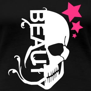 Skull beauty T-Shirts - Women's Premium T-Shirt