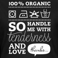 Design ~ Typographic Laundry Tag TLC  T-shirts