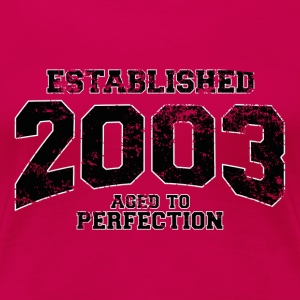established 2003(uk) T-Shirts - Women's Premium T-Shirt