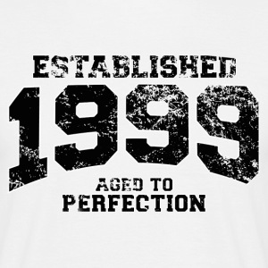 Geburtstag - established 1999 - aged to perfection - Männer T-Shirt