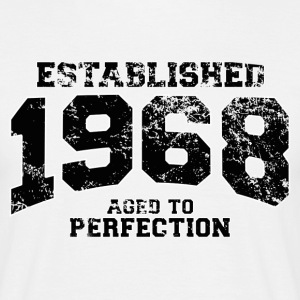 established 1968 - aged to perfection(uk) T-Shirts - Men's T-Shirt