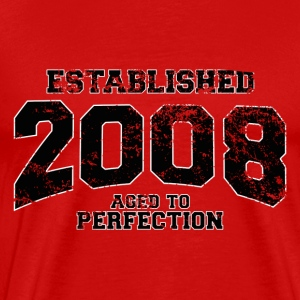 established 2008(uk) T-Shirts - Men's Premium T-Shirt