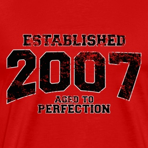 established 2007(sv) T-shirts - Premium-T-shirt herr