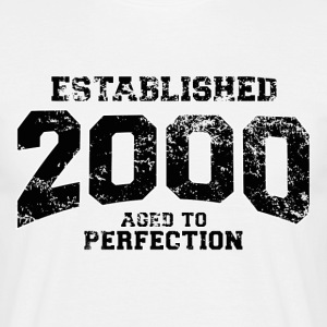 established 2000(es) Camisetas - Camiseta hombre