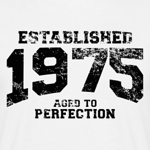 established 1975 - aged to perfection(it) T-shirt - Maglietta da uomo