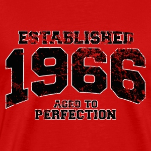 establishes 1966 - aged to perfection(nl) T-shirts - Mannen Premium T-shirt