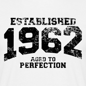 established 1962 - aged to perfection(nl) T-shirts - Mannen T-shirt