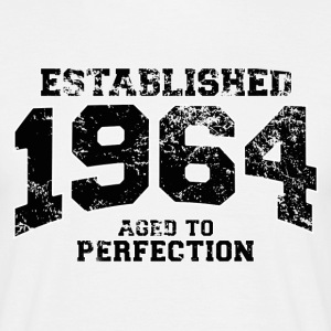 Geburtstag - established 1964 - aged to perfection - Männer T-Shirt