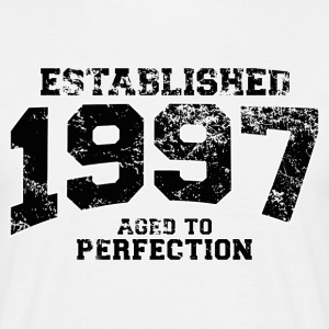 Geburtstag - established 1997 - aged to perfection - Männer T-Shirt